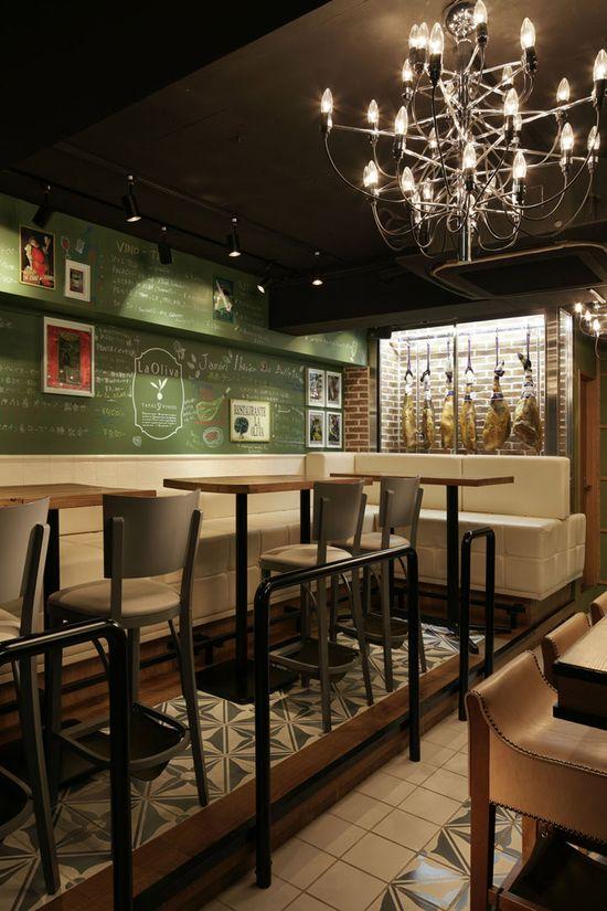 La Oliva Spanish restaurant by DOYLE COLLECTION, Tokyo store design