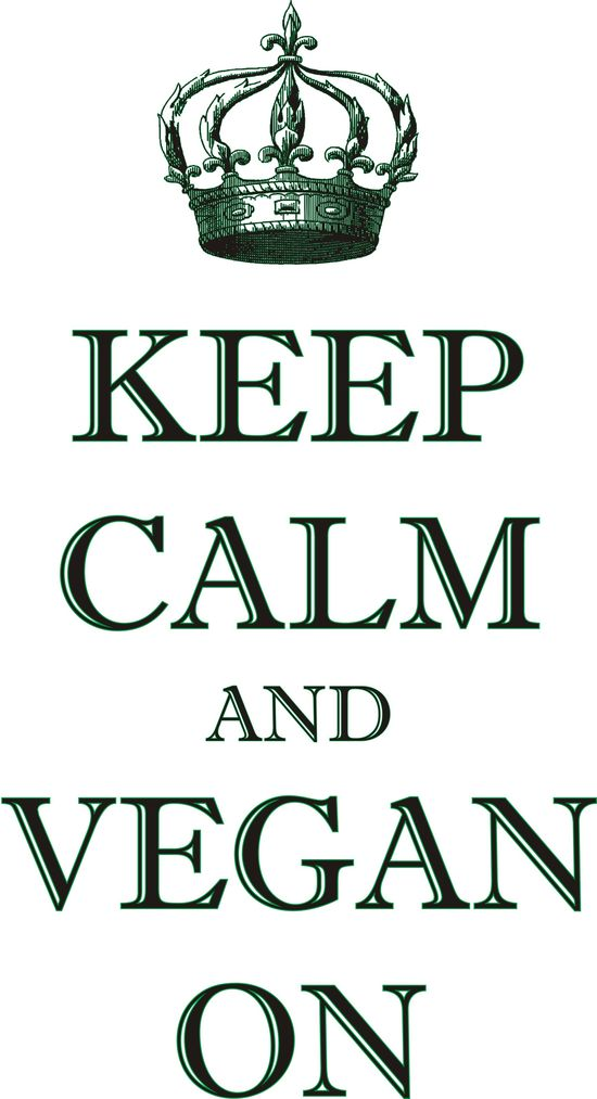 Vegan On.