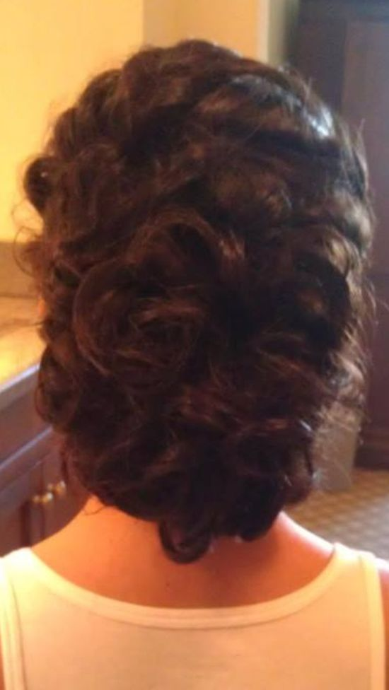 Wedding hair style!