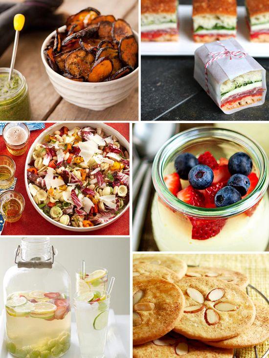 perfect picnic menu!