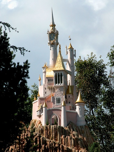 Cinderella's castle, Storybook Land attraction, Disneyland