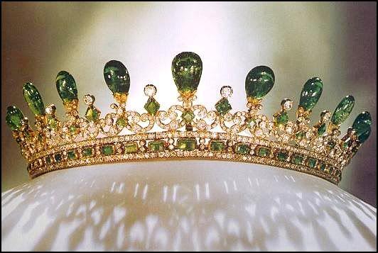 Queen Victoria's Emerald tiara