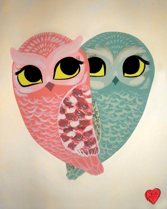 'Owl Love' by Shanon Diamond