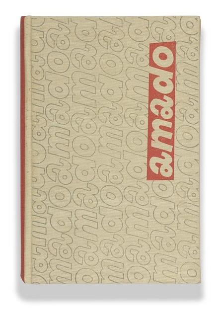 amado3 - Czech book cover by Vladimir Fuka (1960's)