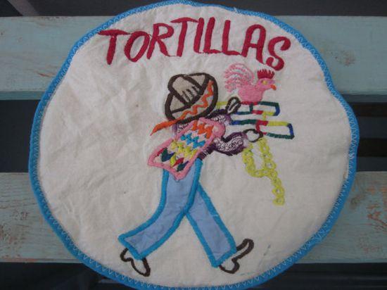 Vintage Handmade Tortilla Warmer by AtomicHostess on Etsy, $5.00