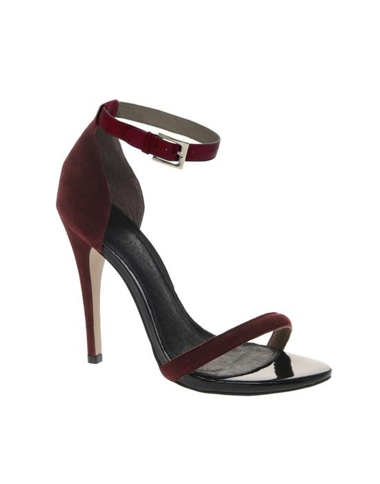 Stiletto Leather Sandals