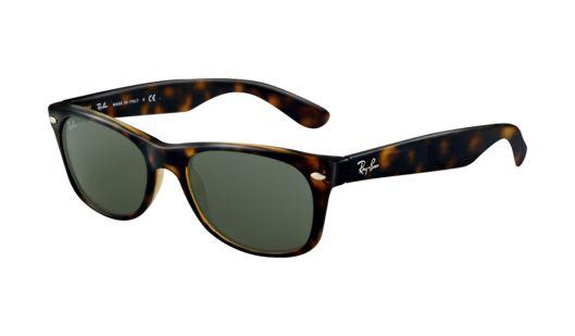 Ray-Ban New Wayfarer Sunglasses: new ray-bans....i like the darker shade of leopard