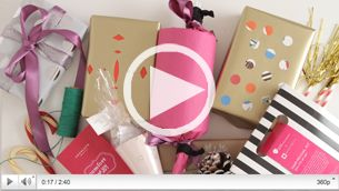 3 Easy DIY Gift Wrapping Ideas