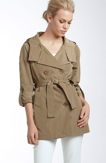 Michael Kors spring trench. On a quest to find the perfect neutral trench.