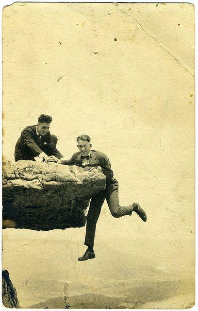 Real Photo Postcard: 1917 Bill & Wisdow [?] O'Neal (1917)