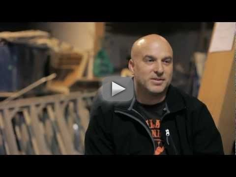 """Longboard Larry: hand-made longboards - From """"All our longboard skateboards are hand-made in Oregon. Each board is laminated, using the best adhesives and pressed"""