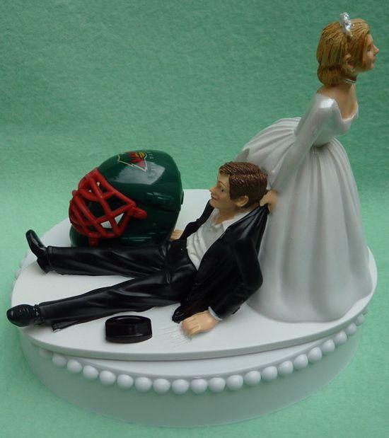 Perfect #mnwild wedding cake topper.