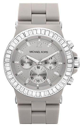 Michael Kors Crystal Ceramic Watch