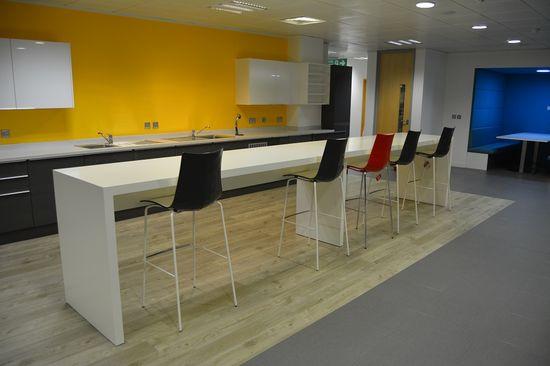 Breakfast bar #office #design #inspiration
