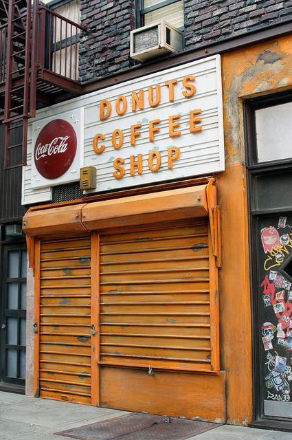 New York Coffee Shop by Randy Hage