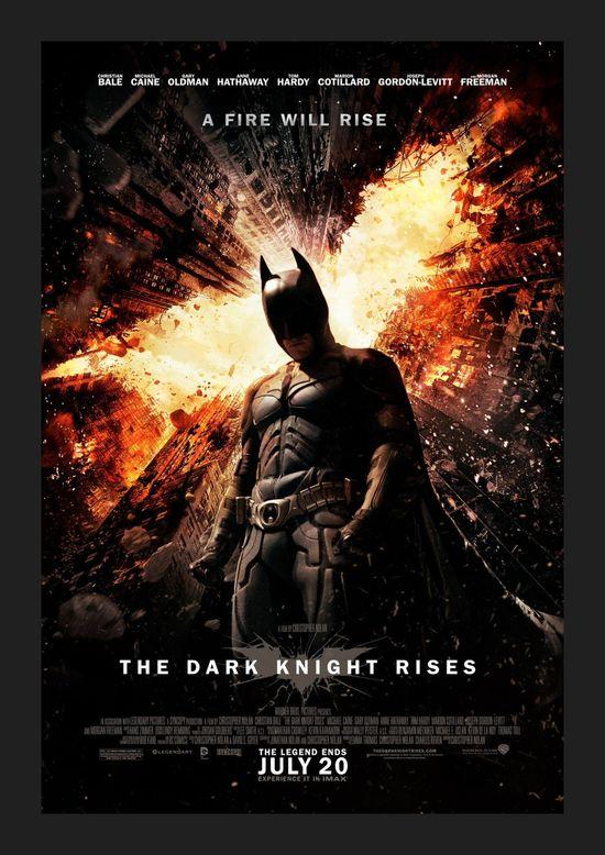 The Dark Knight Rises, movie poster