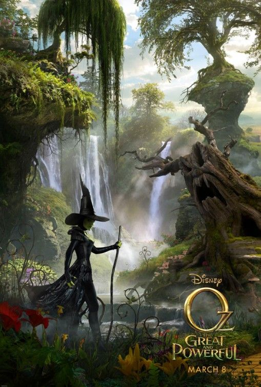 Oz The Great and Powerful. Love love loved it!
