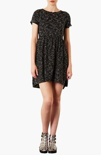 Comfy & cute! Topshop Speckled Jersey Dress