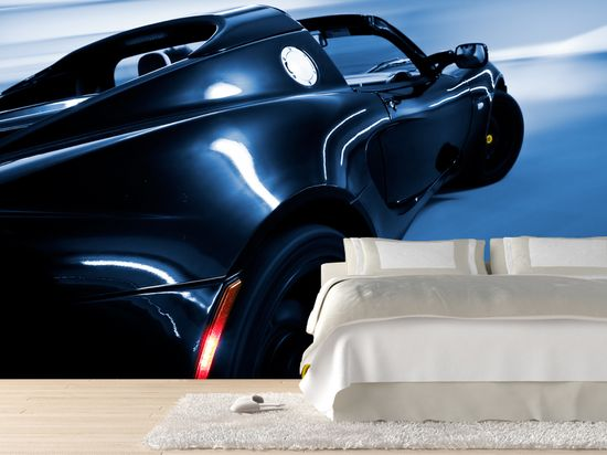 Luxury sport car Wall Mural