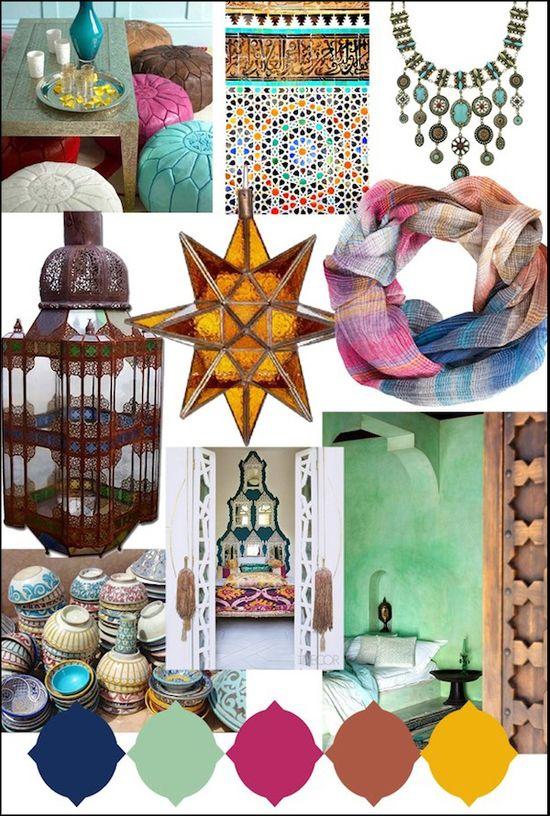 Bohemian-chic/Moroccan style