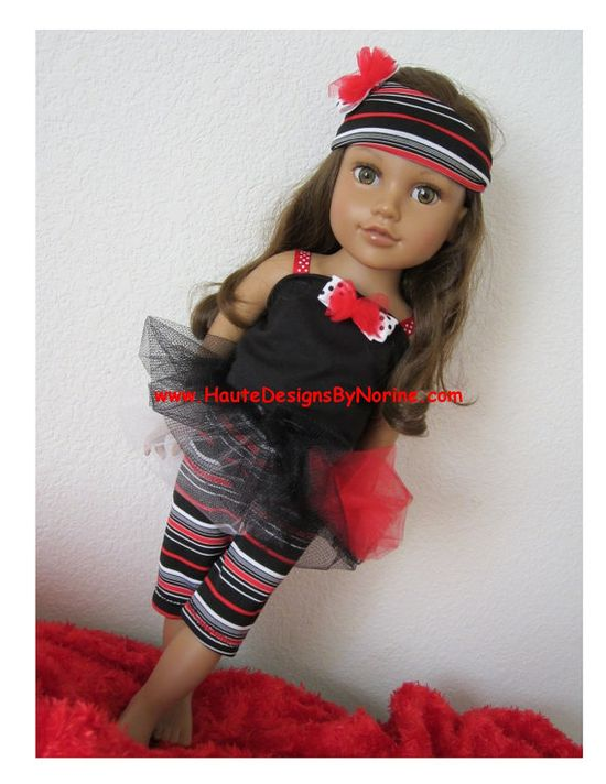 American Girl Doll Clothes Doll Clothes 18 by HauteDesignsByNorine, $19.50