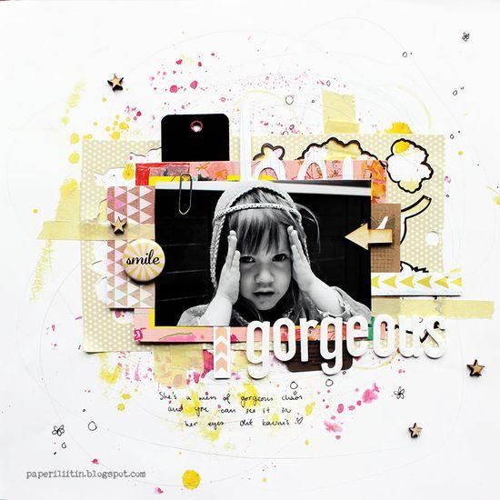 Gorgeous - Scrapbook.com