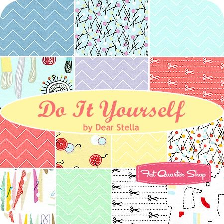Do It Yourself Fat Quarter Bundle Dear Stella Fabrics