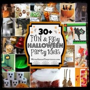 #FridayRoundUP: Halloween Party Ideas - With a Side of Thriftiness
