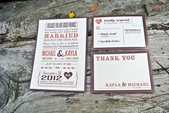 Wedding Reception Invitation Rustic Country by WideEyesDesign, $2.00
