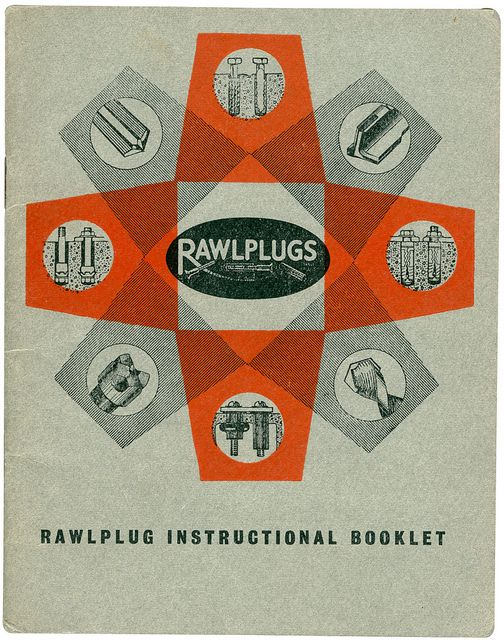 Vintage Raw Plugs instructional booklet