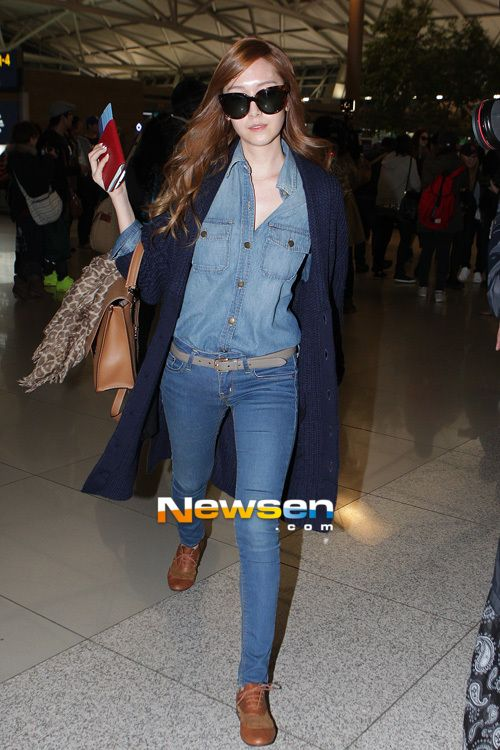 My Korean Stars Airport Fashion With Kpop Star Gg
