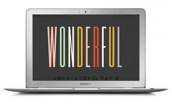 Huge round-up of free, stylish desktop wallpaper designs!