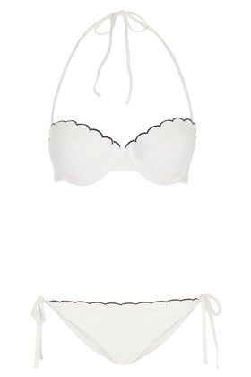 // scallop bikini *just like chloe's
