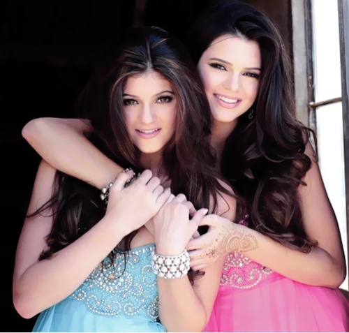 kendall and kylie have the best hair!