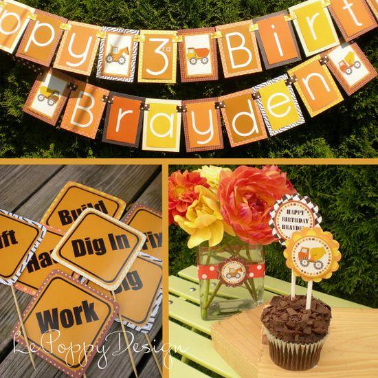 Construction Birthday Party Ideas