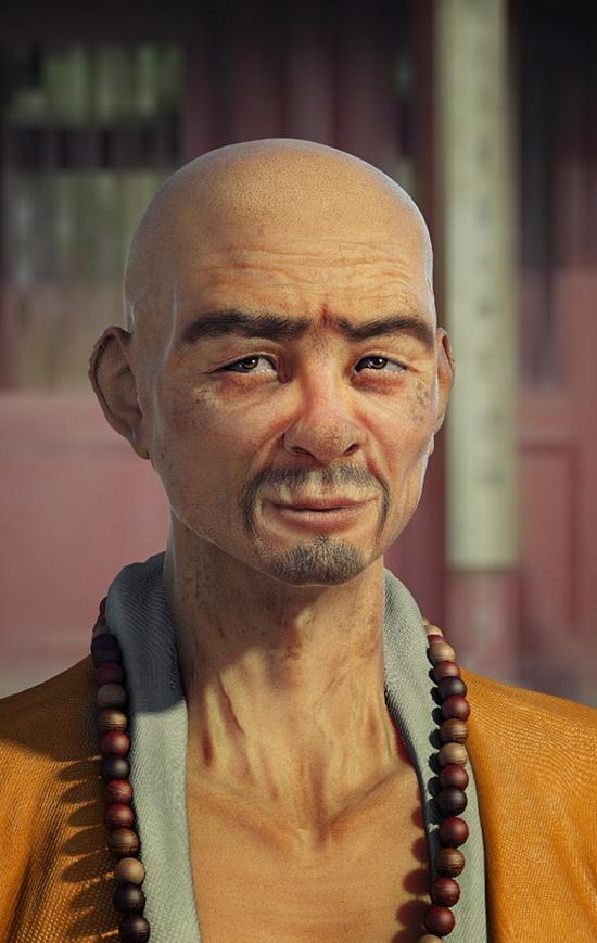 3D character design by Peter Mayer, via Behance