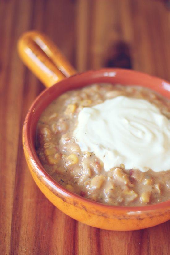 Crockpot White Bean Chicken Chili