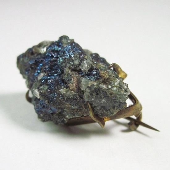 c. 1900 mineral brooch