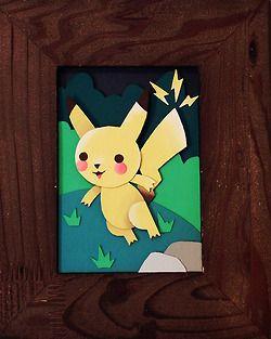 """Pikachu"" by Derek E"
