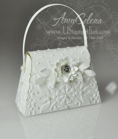 Petite Wedding Purse - Stampin' Connection
