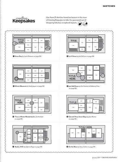 CK Bonus Sketches - February 2011