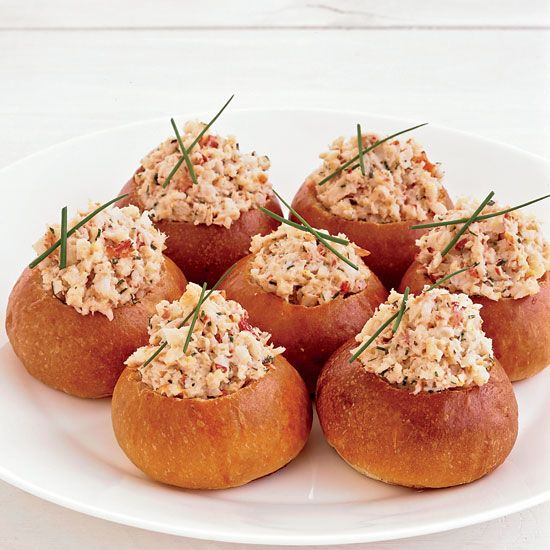 Mini Brioche Lobster Rolls // More Fast Hors d'Oeuvres: www.foodandwine.c... #foodandwine