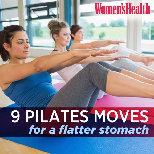 Flatten those abs with 9 core-tightening Pilates exercises that seriously deliver: www.womenshealthm...