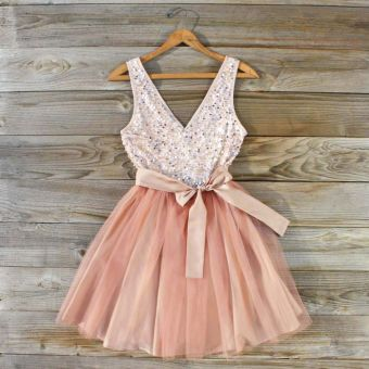Sequin Party Dress...cute!