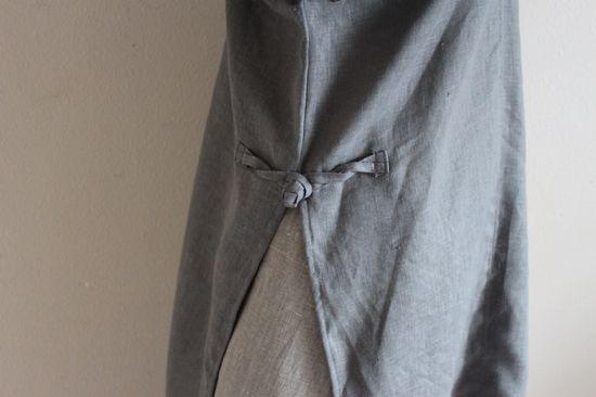 annyschoo aodai split linen top