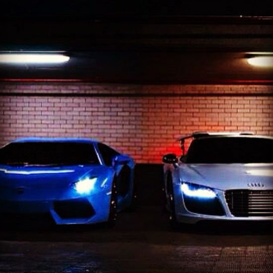 Lambo or the Audi???