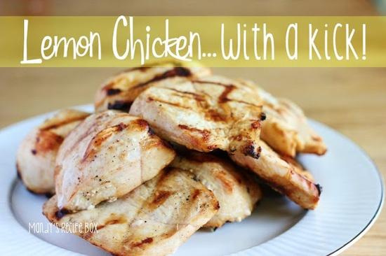 Lemon Chicken with a Kick on MyRecipeMagic.com