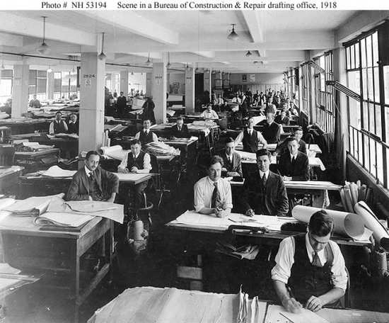 Office Design from early 1900's