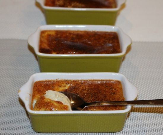 Delicious baked custard dessert, perfect for entertaining