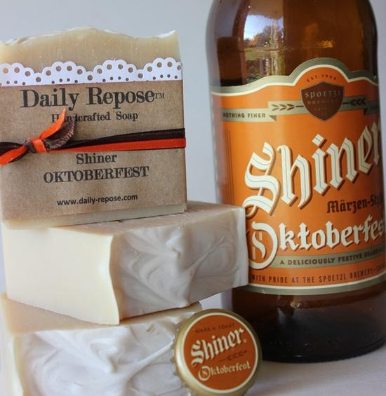 BEER SOAP Shiner Handmade Soap